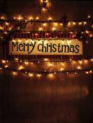 Christmas home decoration Stock Photos