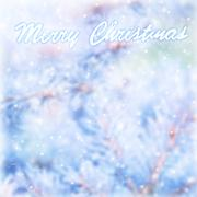 Marry christmas blur greeting card Stock Photos