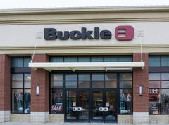 The buckle retail store exterior Stock Photos