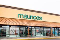 Maurices retail store exterior Stock Photos