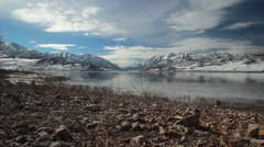 Deer Creek Reservoir Utah Stock Footage