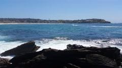 BONDI BEACH, SYDNEY, AUSTRALIA Stock Footage