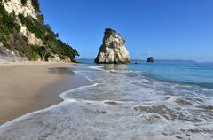 Stock Photo of te whanganui-a-hei (cathedral cove) marine reserve