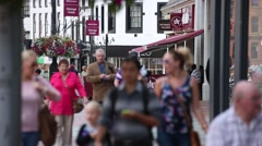 Tudor architecture Stock Footage