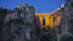 Stock Video Footage of ronda, spain