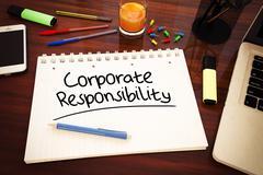 Corporate responsibility Stock Illustration