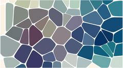 Stock Illustration of Stylish colorful mosaic pattern