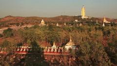 Bodhi Tataung Standing Buddha Stock Footage