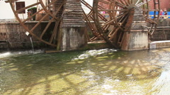 Dayan Old Town Watermill Stock Footage