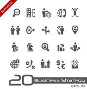 Business Strategy and Management -- Basics - stock illustration