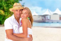Honeymoon vacation Stock Photos