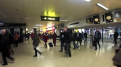 Euston Railway Station, London  3 Stock Footage