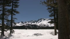 Sierras at Mammoth Lakes Stock Footage