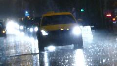 Hard rain Stock Footage