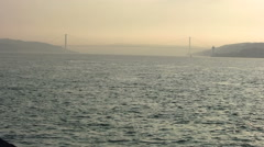 Bosporus Bridge - stock footage