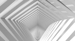 abstract architectural background - stock illustration