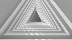 Stock Illustration of abstract architectural background