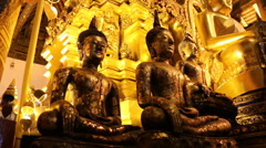 Wat Phra that SI Chom thong Temples in Chiang Mai Thai country - stock footage