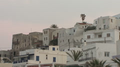 Greece, Naxos, Seaside Houses Stock Footage