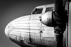 Old vintage jet engine Kuvituskuvat