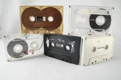 Vintage musicassette Stock Photos