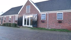 Cheese factory building, Holland Stock Footage