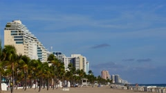 Video footage fort lauderdale beach 3 Stock Footage