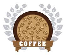 Stock Illustration of delicious coffee design, vector illustration eps10 graphic