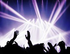 Music concert Stock Photos