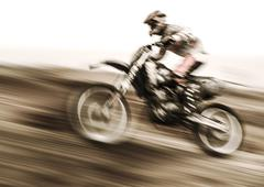 Championship of motocross Stock Photos