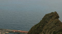 Fullhd, panned view over santa druz de la palma Stock Footage