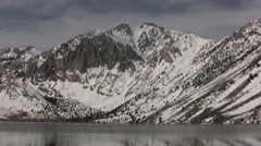 Convict Lake and Laurel Mountain Stock Footage