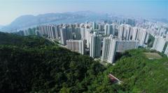 4K Aerial Shot of Hong Kong of China. Arkistovideo