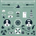 Stock Illustration of nautical icons