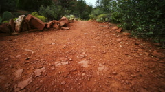 Walking Trail Stock Footage