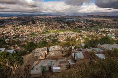 Stock Photo of panorama of antananarivo city, madagascar capital
