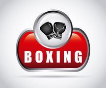 Stock Illustration of boxing sport design, vector illustration eps10 graphic