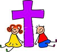 Christian Kids - stock illustration
