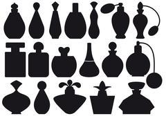 Perfume bottles, vector Stock Illustration