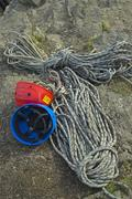 Rope and Helmets Stock Photos