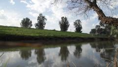 Jordan river in israel Stock Footage