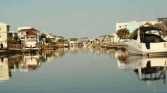 BEACH TOWN PRIVATE HARBOR Stock Footage
