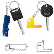 Semi truck key holders Piirros