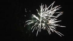 Fireworks. Close-up Stock Footage