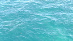 Clear blue calm ocean water #2 - stock footage