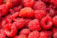 Stock Photo of sweet raspberry fruit