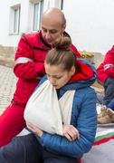 Bulgarian red cross youth (brcy) voluntary organization Stock Photos