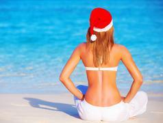 New year holidays on maldive islands Kuvituskuvat