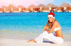 Christmas vacation on maldives Kuvituskuvat