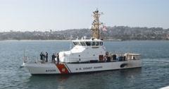 Coast Guard Cutter 4k 07 - stock footage